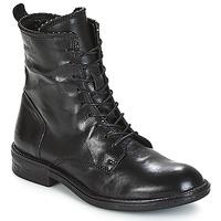 Shoes Women Mid boots Mjus PAL LACE Black