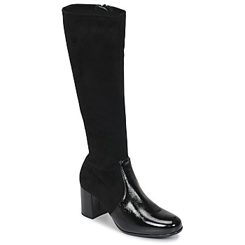 Shoes Women High boots Unisa ORLANDO Black