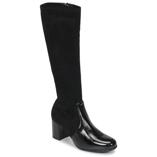 Shoes Women High boots Unisa ORLANDO Black