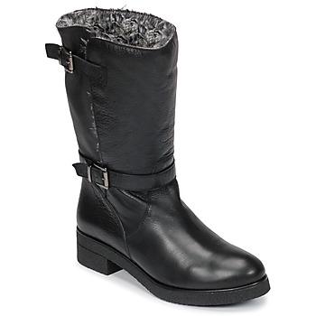 Shoes Women Mid boots Unisa DALI Black