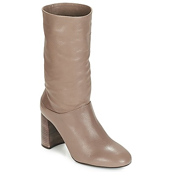 Shoes Women Ankle boots Unisa OLIAS Taupe