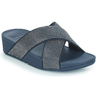Shoes Women Sandals FitFlop Ritzy Slide Blue