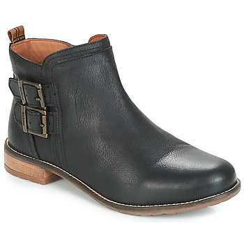 Shoes Women Mid boots Barbour SARAH LOW BUCKLE  black