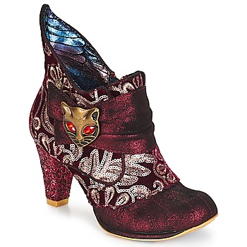 Shoes Women Ankle boots Irregular Choice Miaow Bordeaux