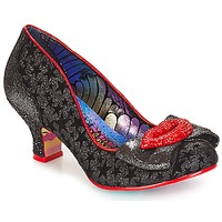 Shoes Women Heels Irregular Choice Carnival kiss  black / Silver