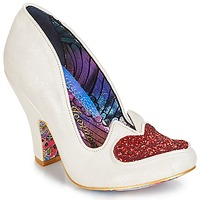 Shoes Women Heels Irregular Choice Love me not White / Red
