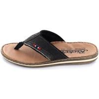 Shoes Men Flip flops Rieker 2108400 Black