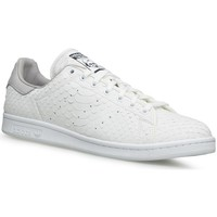 Shoes Men Low top trainers adidas Originals Stan Smith Decon White-Grey