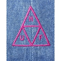 Clothes accessories Men Caps Huf Formless Denim Triple Triangle Hat Blue Blue