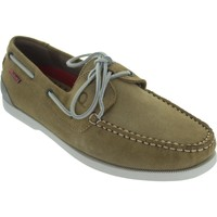 Shoes Men Boat shoes Chatham Galley II Sand