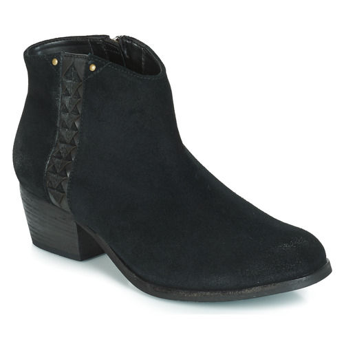 Shoes Women Ankle boots Clarks MAYPEARL FAWN  black