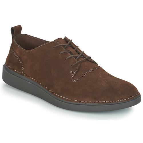 Shoes Men Derby Shoes Clarks HALE LACE Brown