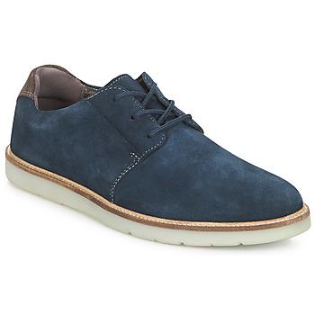 Shoes Men Derby Shoes Clarks GRANDIN PLAIN Blue