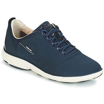 Shoes Women Low top trainers Geox NEBULA Navy
