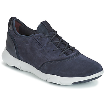 size 40 ea399 f832e Shoes Men Low top trainers Geox NEBULA S Navy