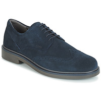 Shoes Men Derby Shoes Geox SILMOR Navy