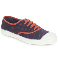 Shoes Women Flat shoes Bensimon TENNIS LACET Navy