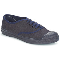 Shoes Women Mid boots Bensimon TENNIS LACET Denim / Navy