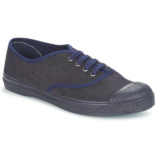 Shoes Women Low top trainers Bensimon TENNIS LACET Denim / Navy