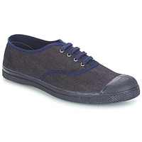 Shoes Men Mid boots Bensimon TENNIS LACET Denim