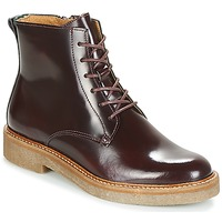 Shoes Women Mid boots Kickers OXIGENO Bordeaux