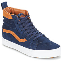 Shoes Hi top trainers Vans Sk8-hi (mte) / Suede / Blues
