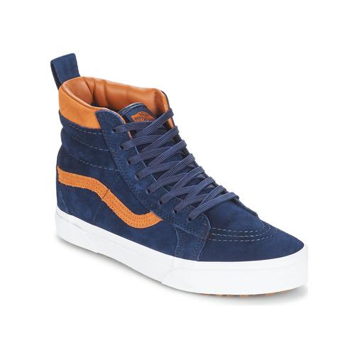 Shoes Hi top trainers Vans Sk8-hi (mte) / Suede / Blues
