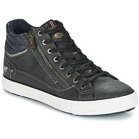 Shoes Men Hi top trainers Mustang AIYANNA Grey / Dark