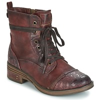 Shoes Women Mid boots Mustang KWANITA Bordeaux