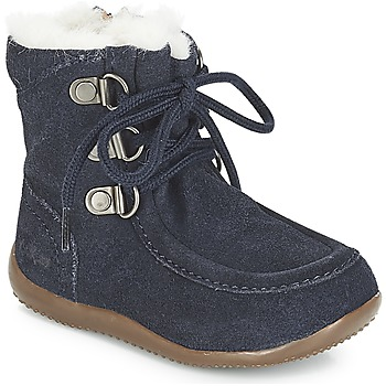 Shoes Children High boots Kickers BAMARA Marine
