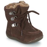 Shoes Children High boots Kickers BAMARA Brown