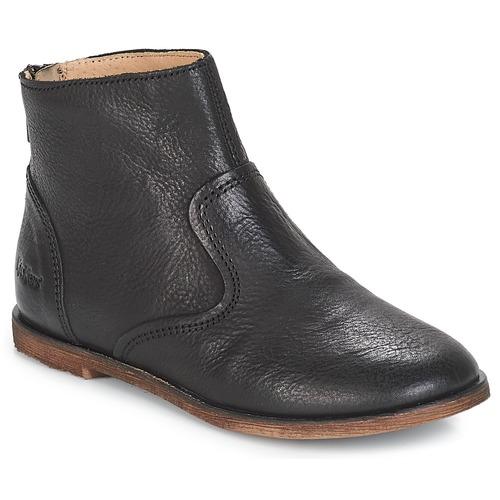 Shoes Girl High boots Kickers ROXANNA Black