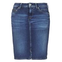Clothing Women Skirts Pepe jeans TAYLOR Blue / Medium