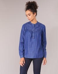 Clothing Women Tops / Blouses Pepe jeans ALICIA Blue
