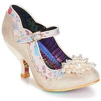 Shoes Women Heels Irregular Choice Shoesbury Cream