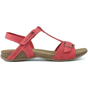 Shoes Women Sandals Interbios HEBILLA  SANDALS AFRODITE 4462 ROJO