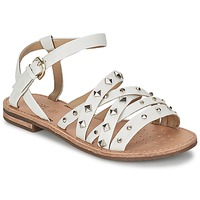 Shoes Women Sandals Geox JOLANDA E White