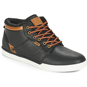 Shoes Men Hi top trainers Etnies JEFFERSON MID LX SMU Black / Brown