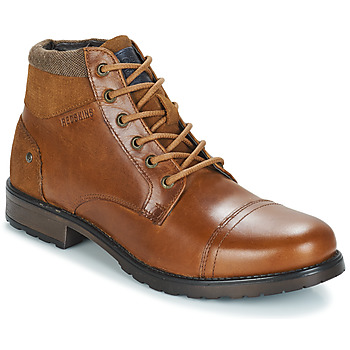 Shoes Men Mid boots Redskins EBIEN Cognac