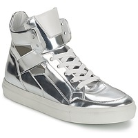 Shoes Women Hi top trainers Kennel + Schmenger TONIA Silver