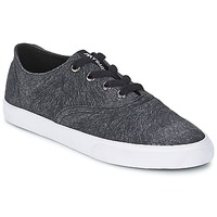 Shoes Women Low top trainers Supra WRAP Black / White