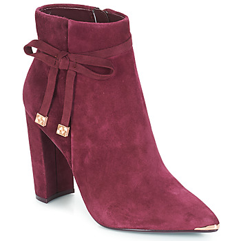 Shoes Women Ankle boots Ted Baker QATENA Burgundy