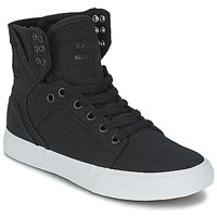 Shoes Hi top trainers Supra SKYTOP D Black / White