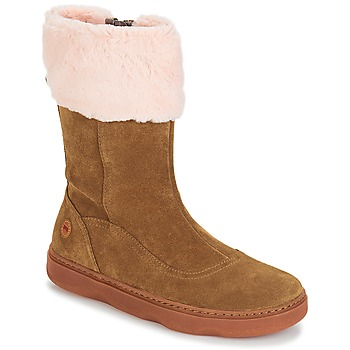 Shoes Girl Mid boots Camper KIDO Brown