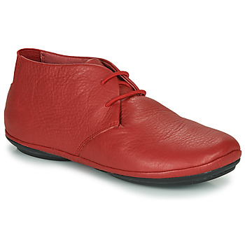 Shoes Women Mid boots Camper RIGHT NINA Red