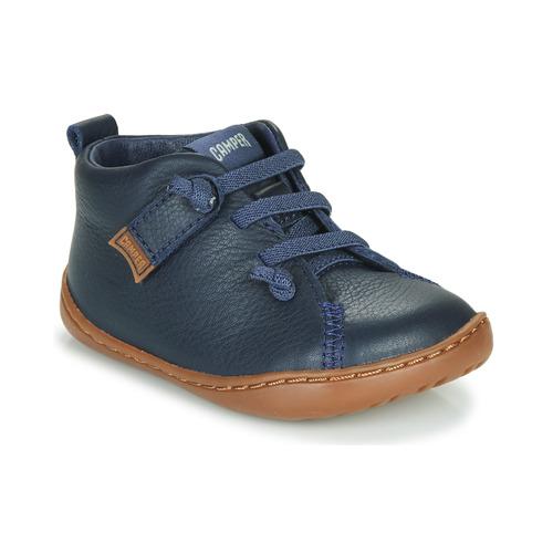 Shoes Boy Low top trainers Camper PEU CAMI Blue