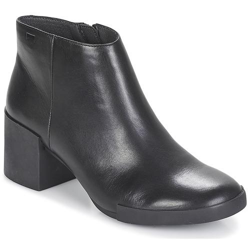 Shoes Women Ankle boots Camper LOTTA Black