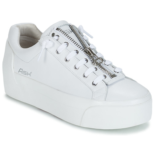 Shoes Women Low top trainers Ash BUZZ White