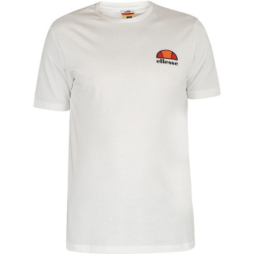 Clothing Men short-sleeved t-shirts Ellesse Canaletto T-Shirt white
