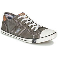 Shoes Men Low top trainers Mustang TIRON Grey